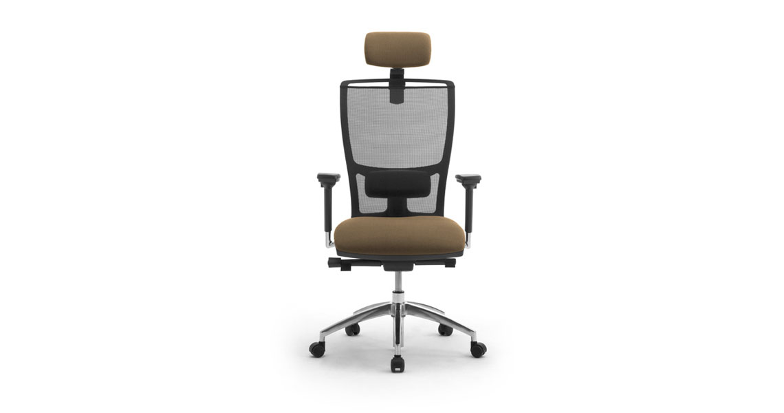 Sedie e sedute ergonomiche per ufficio coworking con rete for Sedie arredo