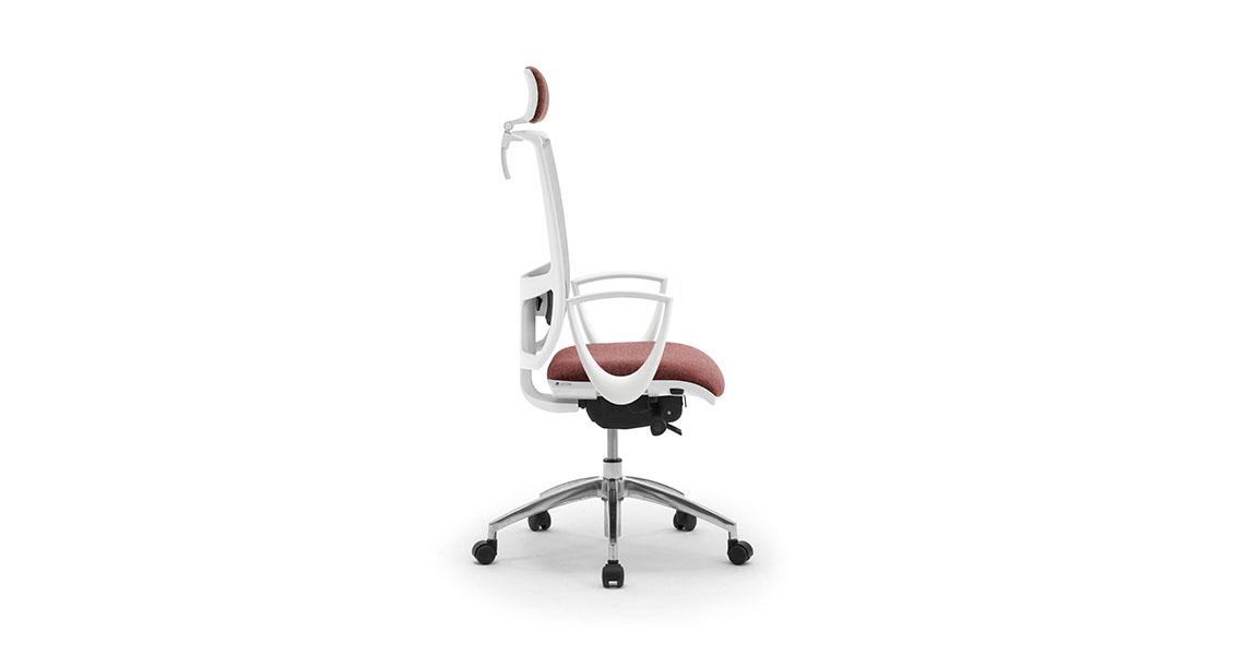 Sedia Per Ufficio Bianca Dal Design Moderno E Minimale Leyform