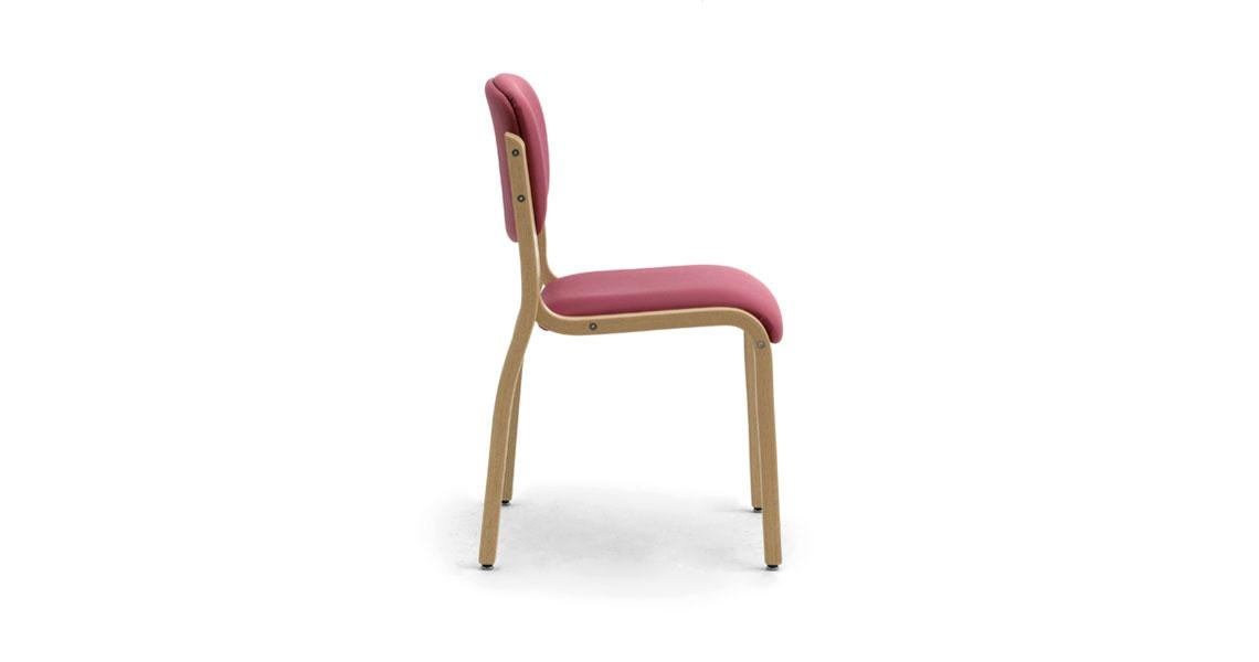 Sedie In Legno Per Alberghi.Sedia In Legno Impilabili Per Albergo Hotel E Case Di Riposo Leyform