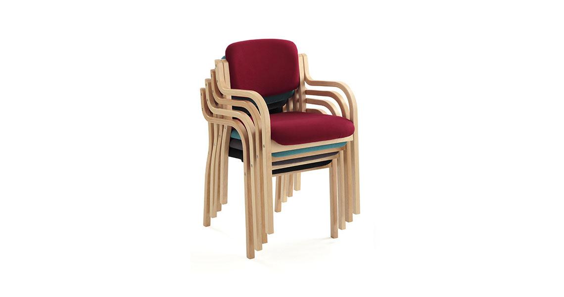 Sedie in legno per casa di riposo RSA e anziani - Leyform