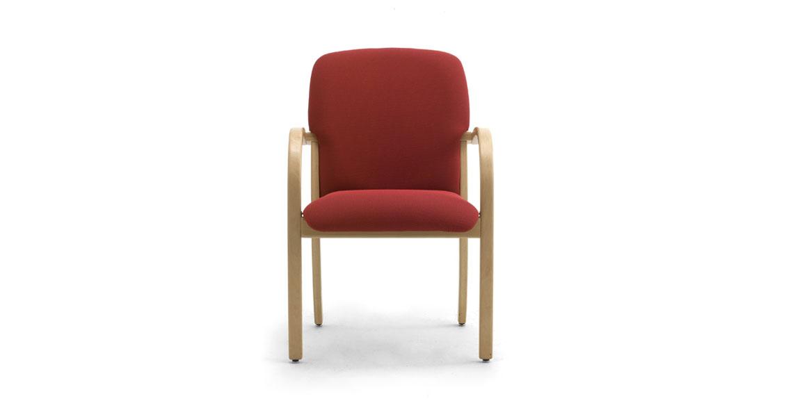 Sedie in legno e poltrone per anziani, case riposo, ospedali ...