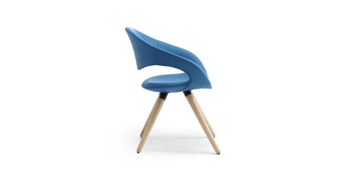 Sedie e poltrone per sale e tavoli riunioni, aree attesa - Leyform