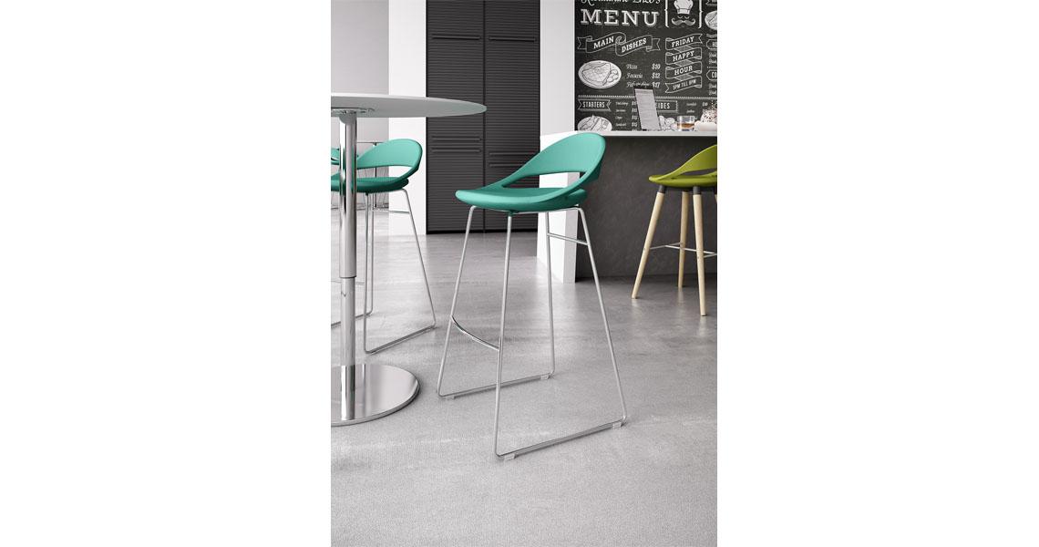 Sgabelli per bancone colazione e angolo bar di casa leyform for Sgabelli design bar