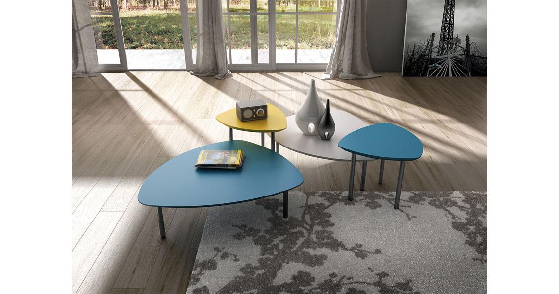 Tavoli portariviste design per saletta attesa e reception for Tavolini di design