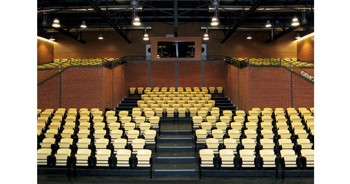 Enjoyable Lecture Hall Commercial Bench Seating With Arms Leyform Gmtry Best Dining Table And Chair Ideas Images Gmtryco