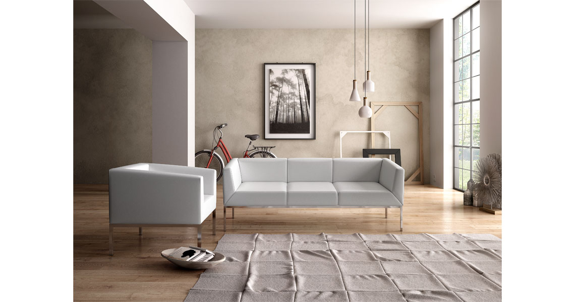 Kos Design contemparary design lounge sofas for office waiting rooms leyform