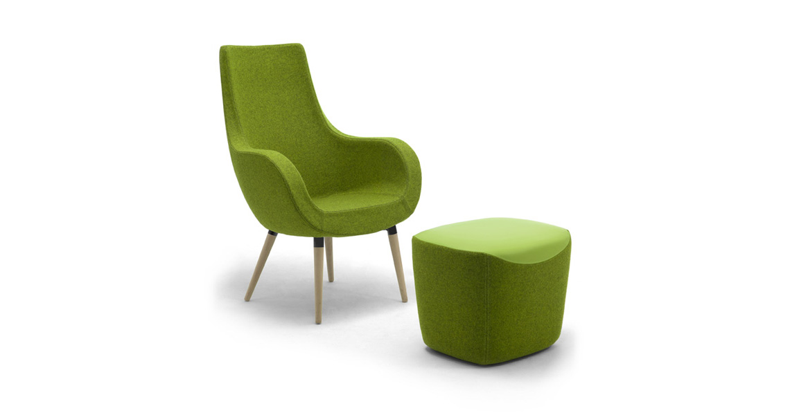 Lounge Chairs For Waiting Areas And Hotel Lobby Leyform