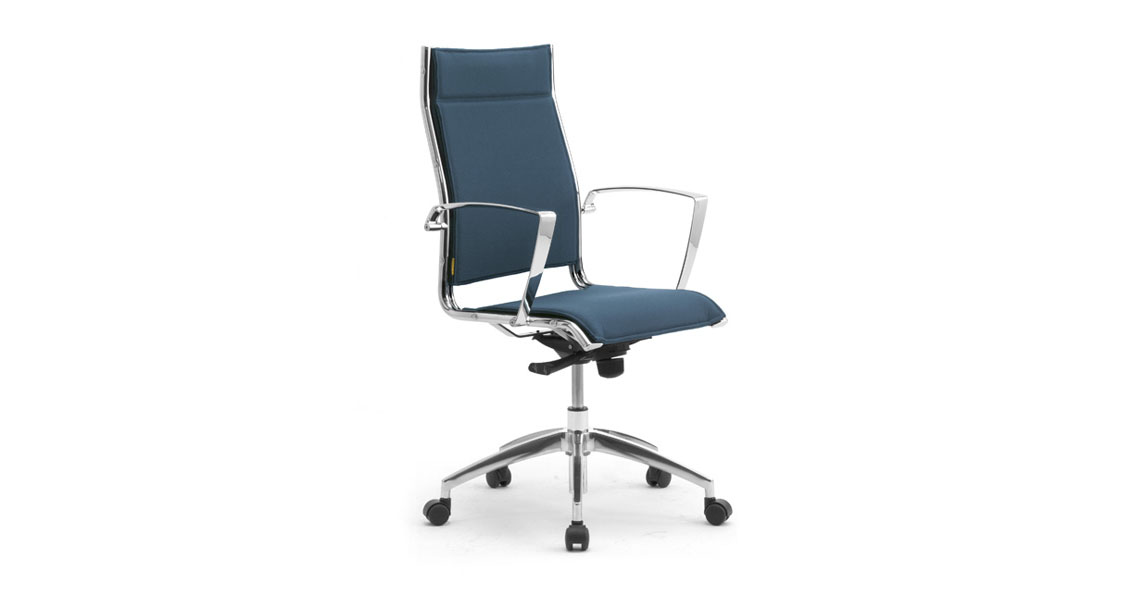 contemporary leather office chairs, High Back swivel chairs ...