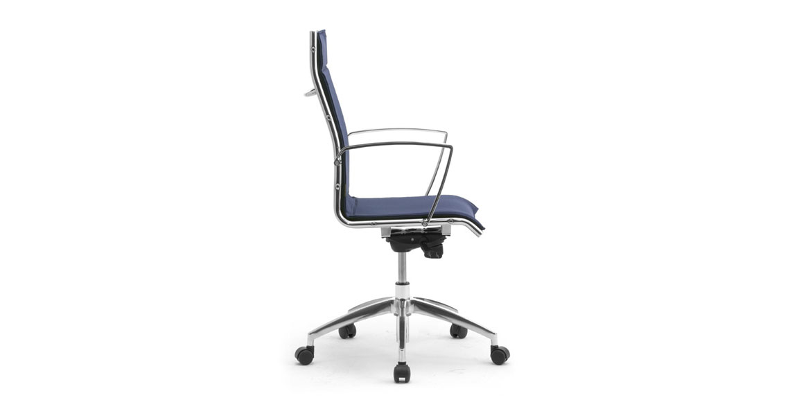 seating office chairs conference with chrome frame high back office