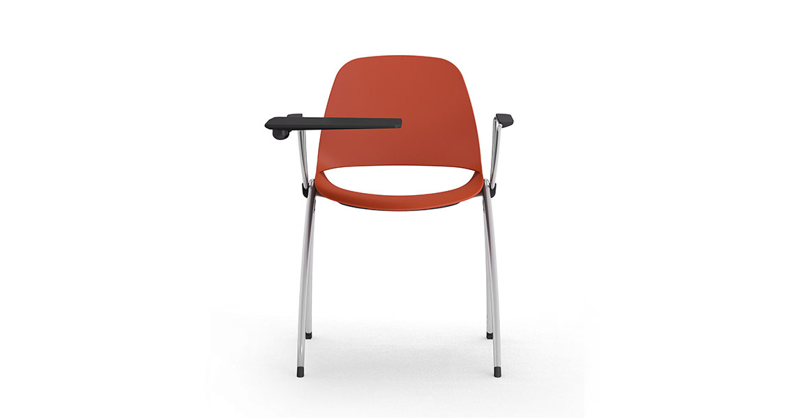 Chairs for congress and seminar furniture with tablet - Leyform