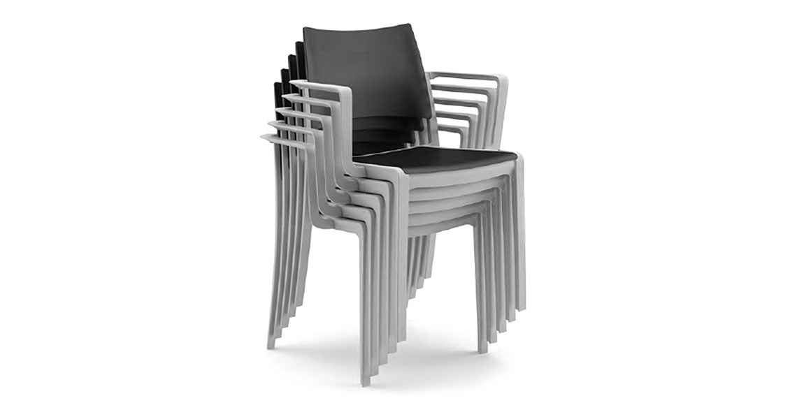 Stackable Plastic Chairs Throughout Stackableplasticchairswarmsforcontractstaky Stackable Plastic Chairs With Arms For Contract Indoor And Outdoor