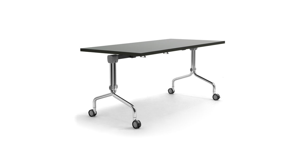 Nesting Tables With Folding Top For Training And Meeting
