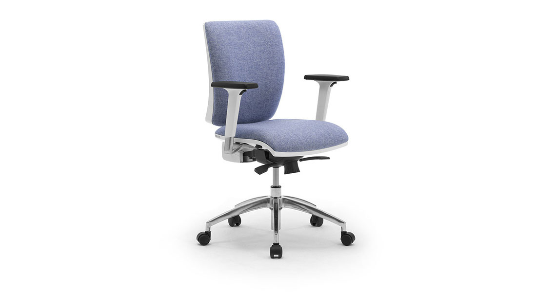 Task Office Chairs With Lumbar Support Leyform