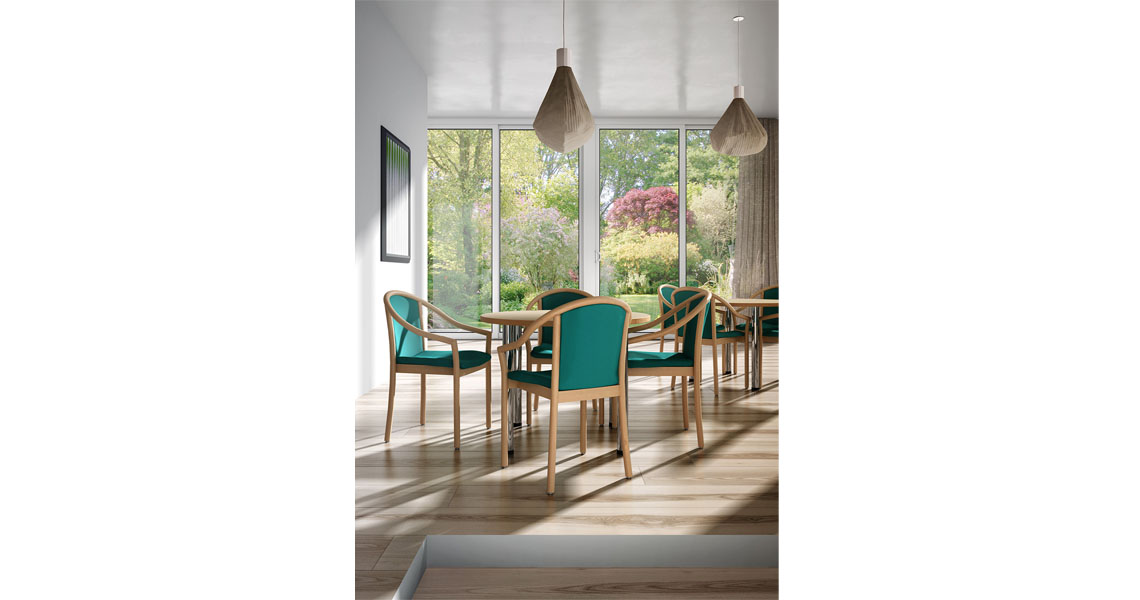dining canteen ideal home office church school doctors Meeting oak chairs