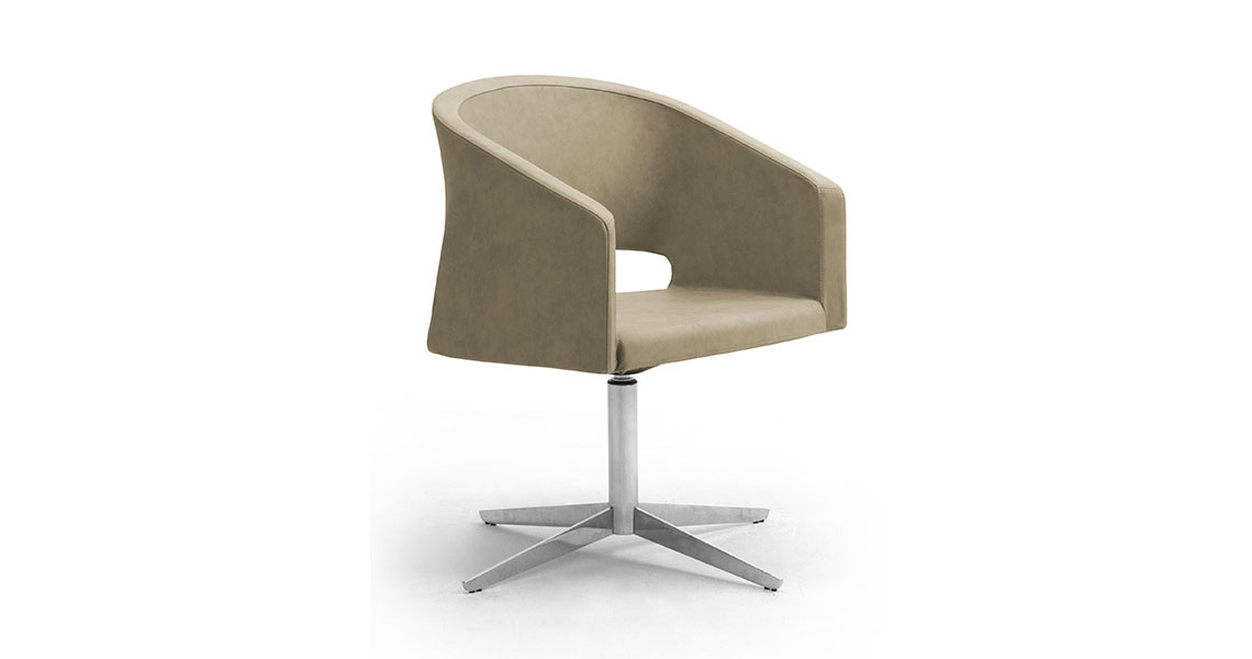 Visitor and lounge meeting chairs - Leyform