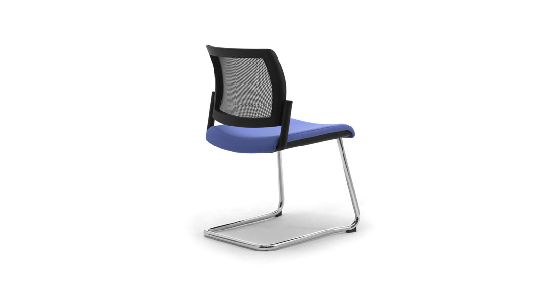 ... Visitor Sled Base Chairs W Mesh Wiki Re